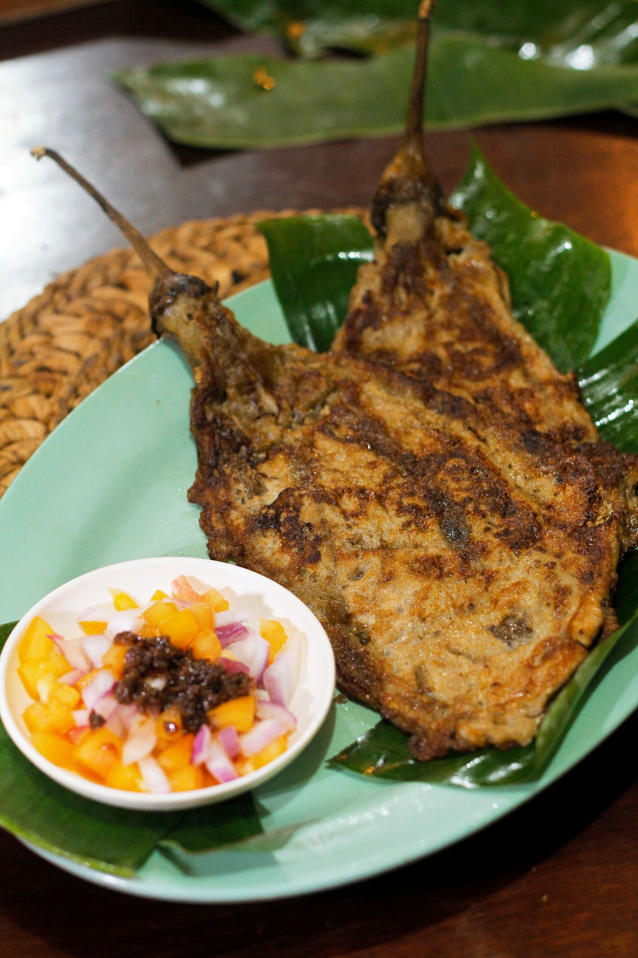 A picture of a delicious tortang talong